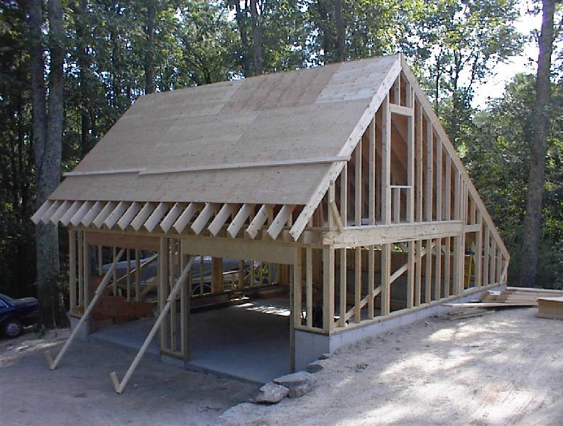 Garage Plan Construction Images