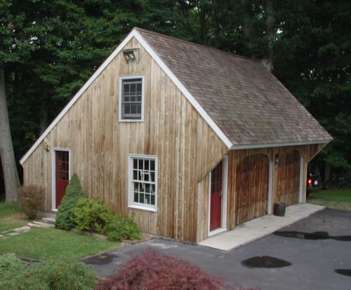 Carriage Shed Garage Plan Examples